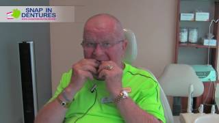 snap in denture care tutorial