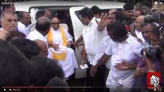 Karunanidhi visit this flood affected area Spl hot tamil video news 09-12-2015