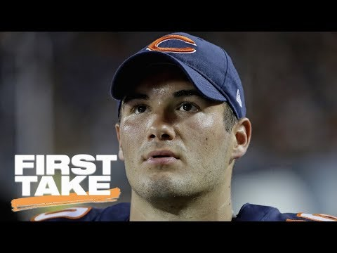 Stephen A. Smith Not Ready To Change His Mind On Bears' QB Mitchell Trubisky | First Take | ESPN