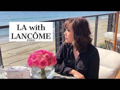 DAILYCHERIE :Lancome in LA Vlog เที่ยวแอลเอลองลิปใหม่กับ Lancome - วันที่ 12 Jul 2018