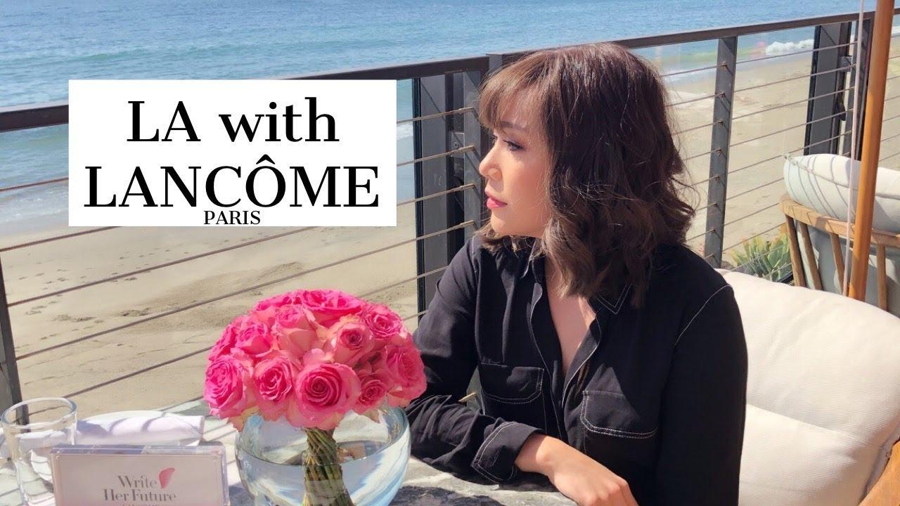 VLOG - DAILYCHERIE : LANCOME in LA Vlog เที่ยวแอลเอลองลิปใหม่กับ Lancome