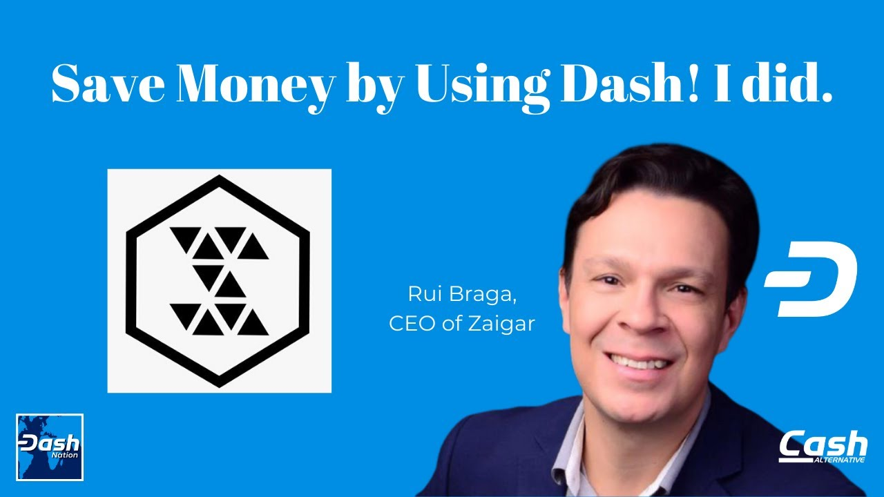 Save Money by Using Dash! I did. (w/ Rui Braga)