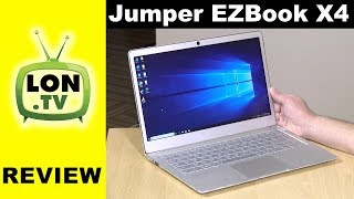"Jumper EZbook X4 Review - $299 Gemini Lake 14"" 1080p Laptop"