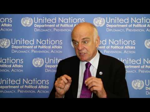 Sustainable Development and Conflict Prevention: Interview with David Nabarro