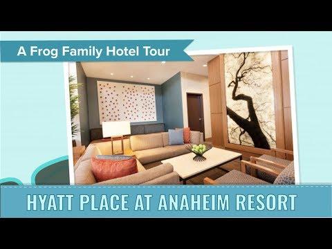 Anaheim Hotel Tour - Hyatt Place at Anaheim Resort, an Undercover Tourist Postcard
