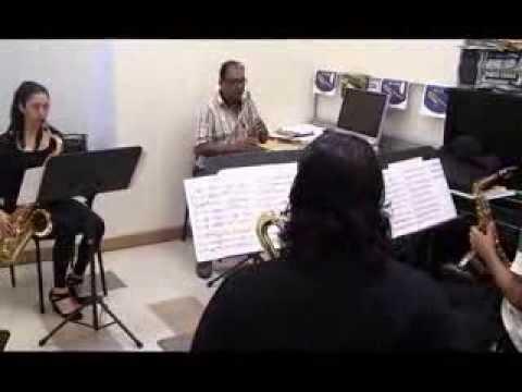 Toccata and Fugue for Saxophones Quartet - Alberto Guidobaldi ©2013