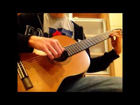 Muse- Unintended (classical guitar cover)