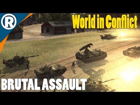 US FARMLAND ASSAULT - World in Conflict: Soviet Assault - Mission 4