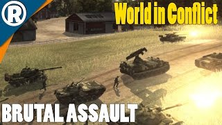 US FARMLAND ASSAULT - World in Conflict: Soviet Assault - Mission 4