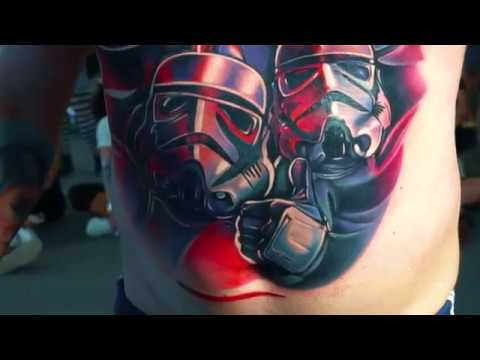 Highlights from Tattoo Art Expo Dublin  2018