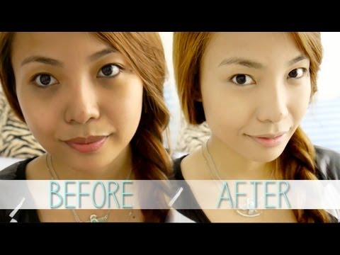 How To:  Apply Cake Foundation (For Oily Skin) thumbnail