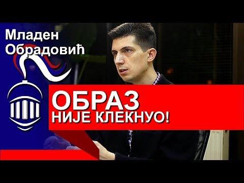 Zašto se OBRAZ nije poklonio Vučiću ? - Mladen Obradović - Ljudske priče i razgovori