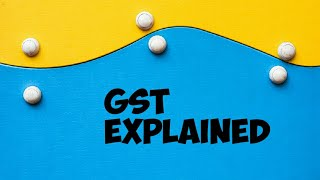 Gst Explained With An Example.