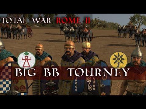 The Big Blade Balance Tournament R2G1 | Horatius vs Cicero | Total War Rome II