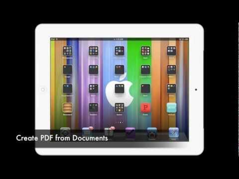 Create PDF On iPad: Convert Documents to PDF