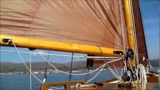 Ruach - A gaffer drifting around the Clyde