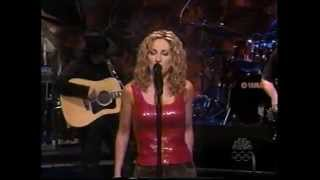 "LEE ANN WOMACK - ""I HOPE YOU DANCE"" (LIVE) - LENO TONIGHT SHOW - 2000"