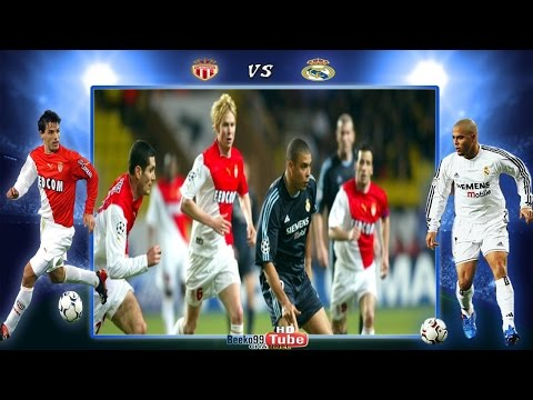 Ronaldo vs Monaco 2004 ( Home & Away )