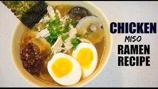 FRIES & THIGHS | Japanese: Chicken Miso Ramen Recipe
