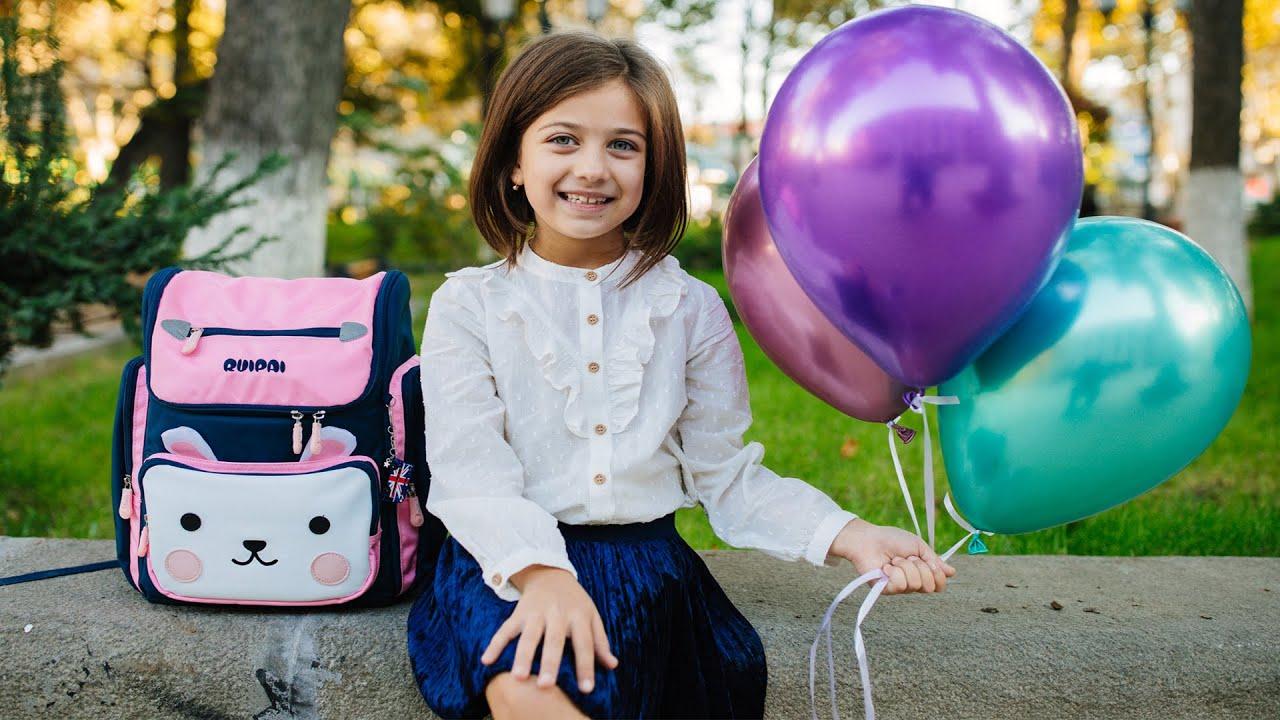 როგორ ემზადება ემილია სკოლაში წასასვლელად - სიმღერა სკოლაზე