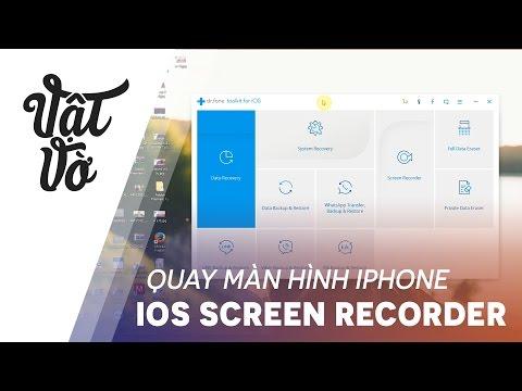 Quay Màn Hình & Hiển Thị IPhone Trên Máy Tính Cực Dễ Với IOS Screen Recorder