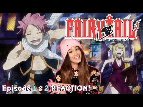 THE ADVENTURE BEGINS! Fairy Tail Episode 1 & 2 REACTION!