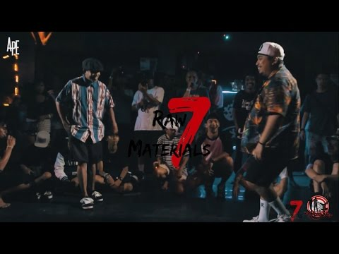 Boogie Punch (Bali) vs Semmy Blank (Jakarta)|Exhibition Battle|Raw Materials 7/2016|A.P.E Films