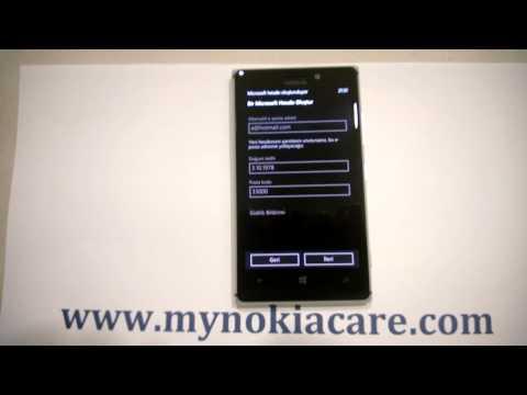 Nokia Lumia Kurulum