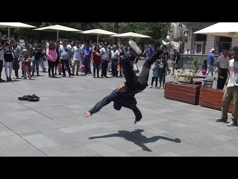 Break dance in Santiago Chile
