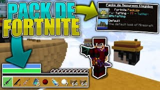 👉THE FORTNITE TEXTURE PACK 😱 SUBE FPS BOOST +1000 (OPTIMIZED 100%) RUSH ON SKYWARS CUBECRAFT