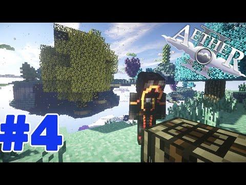 Minecraft Mod Aether II (มายคราฟ มอด สวรรค์) #4 มาเริ่มคราฟของที่จำเป็น