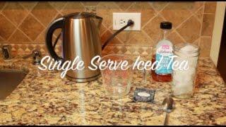 Hot Tea to Iced Tea (Single Serving)