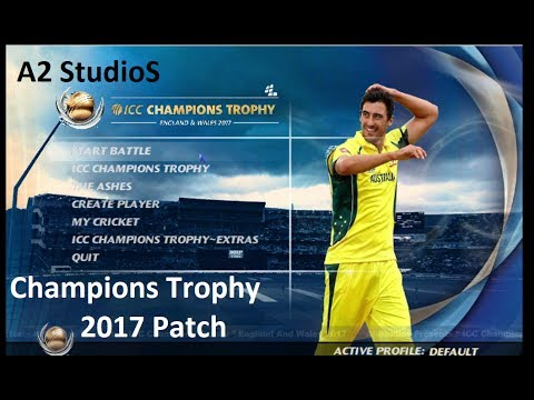 How To Download And Install Champions Trophy 2017 Patch For Ea Sports Cricket 2007