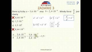 [Zadanie 3] Matura z matematyki poziom podstawowy. Maj 2018.