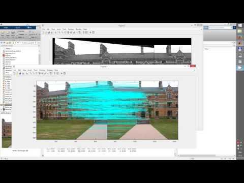 Image Stitching, Mosaicing exp  16 12 2015 - YouTube