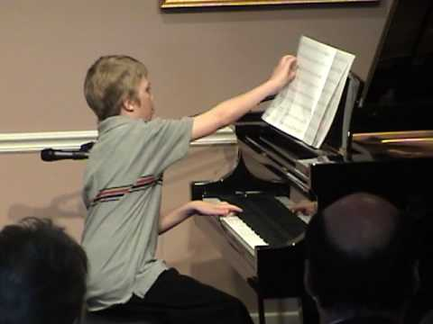 Cameron's Recital 2009 #2 - Before the Last Leaf F...