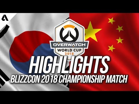 Team South Korea vs Team China | Overwatch World Cup 2018 Grand Finals Highlights thumbnail