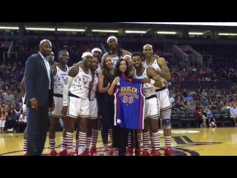 Special Presentation for Cynthia Lemon | Harlem Globetrotters