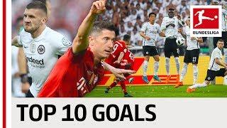 Top 10 Goals Frankfurt vs. Bayern - Wonder Strikes from Fabian, Lewandowski and Ribery