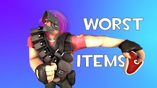 TF2: Top 5 Worst Heavy Weapons