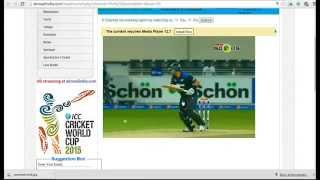 PTV Sports: ICC World Cup 2015 Live Streaming: Live cricket