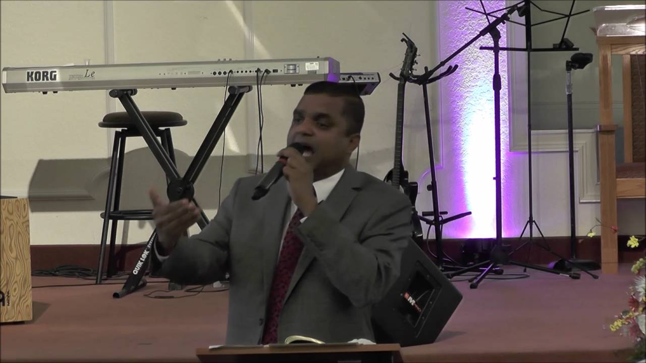 Pr. Manoj Thomas -  IPC Lakeland Sunday Bible Study