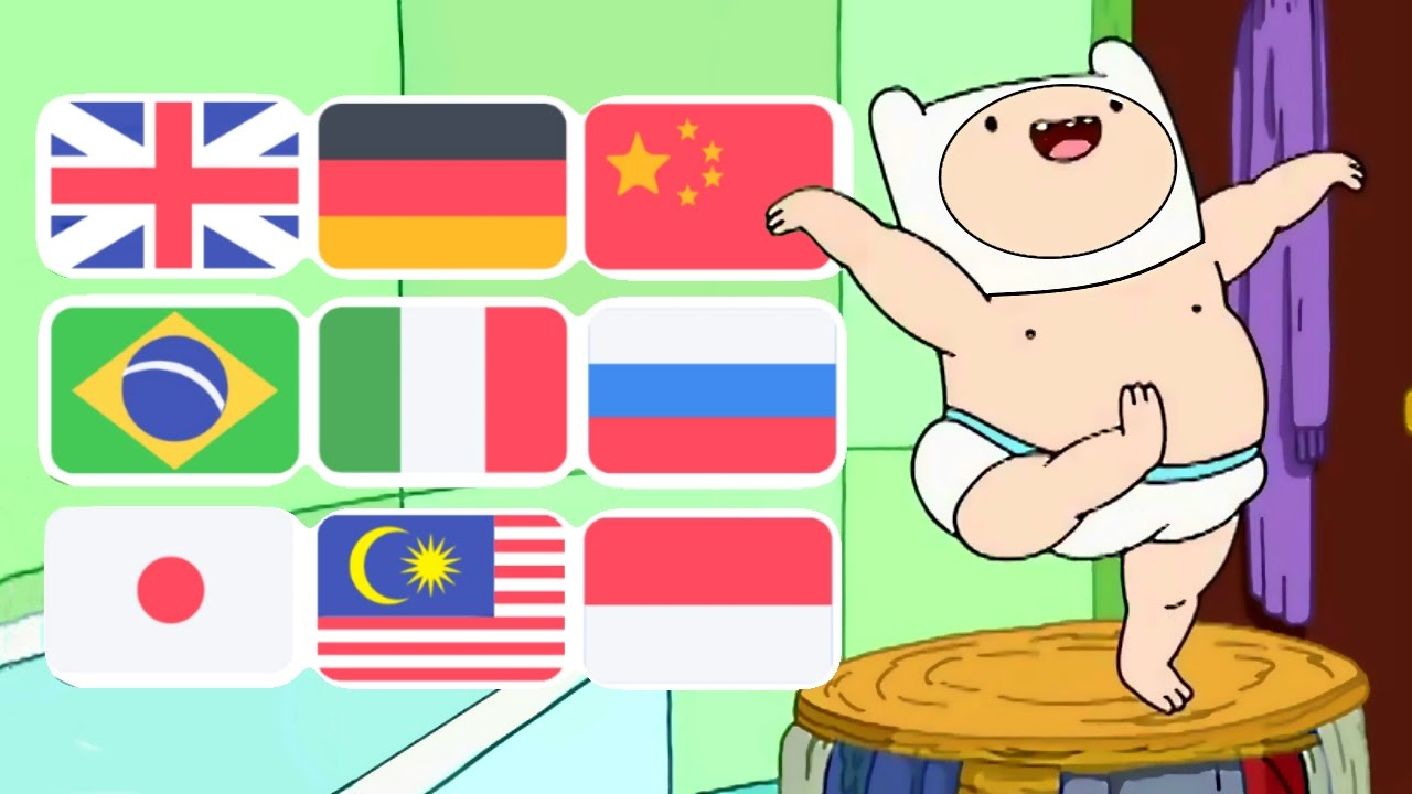 Adventure Time Dancing Baby Finn Song In Various
