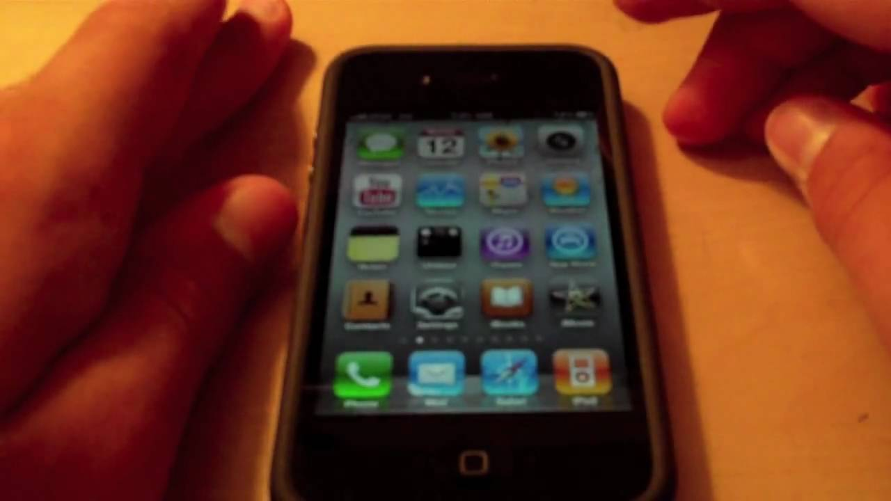 Do video calls on iphone 4 over 3g