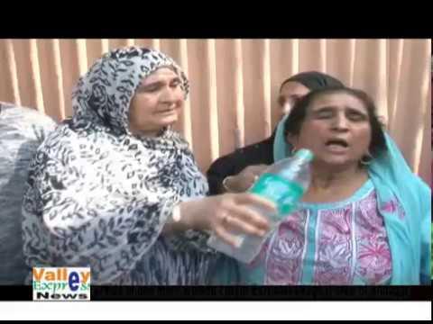 Braids of one more women cut  in Burzullah  Baghat area of Srinagar