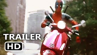 "Download Lagu DEADPOOL 2 ""Scooter Chase"" Clip (NEW 2018) Ryan Reynolds Movie HD Mp3"