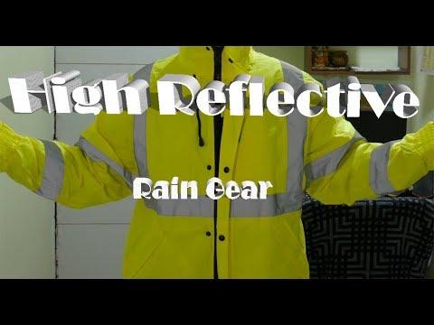 Reflective Jacket Waterproof Rain Coat