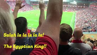 Liverpool 4:1 Norwich, Reds back with a bang at Anfield - Songs and Highlights on The Kop