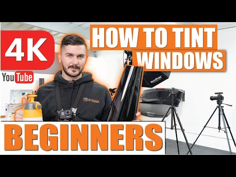 How To Tint Windows - Window Tinting For Beginners