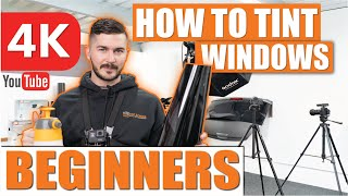 How To Tint Windows  Window Tinting For Beginners